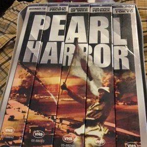 Other - Pear Harbor VHS tape collection